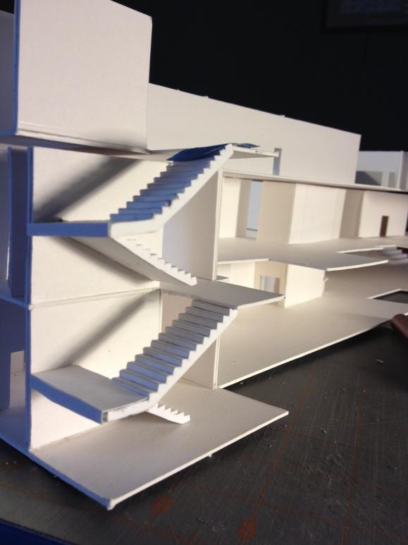 Stair corner